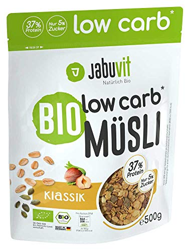 jabuvit Low Carb di cereali 500 G