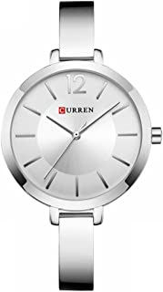 CURREN Original Women's Girls Sports Waterproof Stainless Steel Quartz Wrist Watch 9012