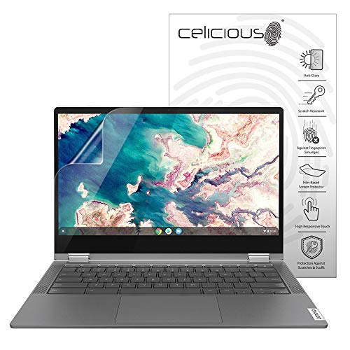 Celicious Matte Anti-Glare Screen Protector Film Compatible with Lenovo Flex 5 Chromebook (13) [Pack of 2]