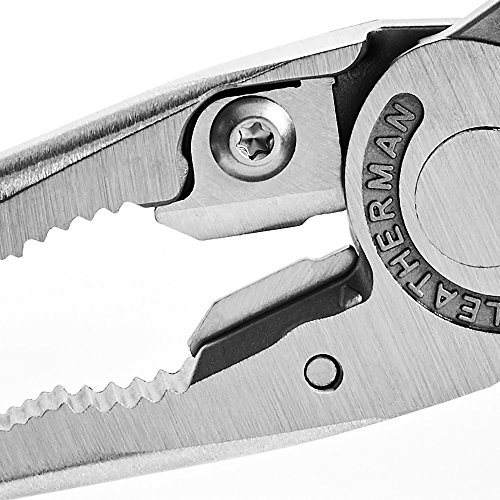 LEATHERMAN, Charge Plus TTi Titanium Multitool with Scissors and Premium Replaceable Wire Cutters, Stainless Steel, Built in the USA