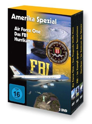 Amerika Spezial (Air Force One - FBI - Hurrikan) - 3 DVD Box