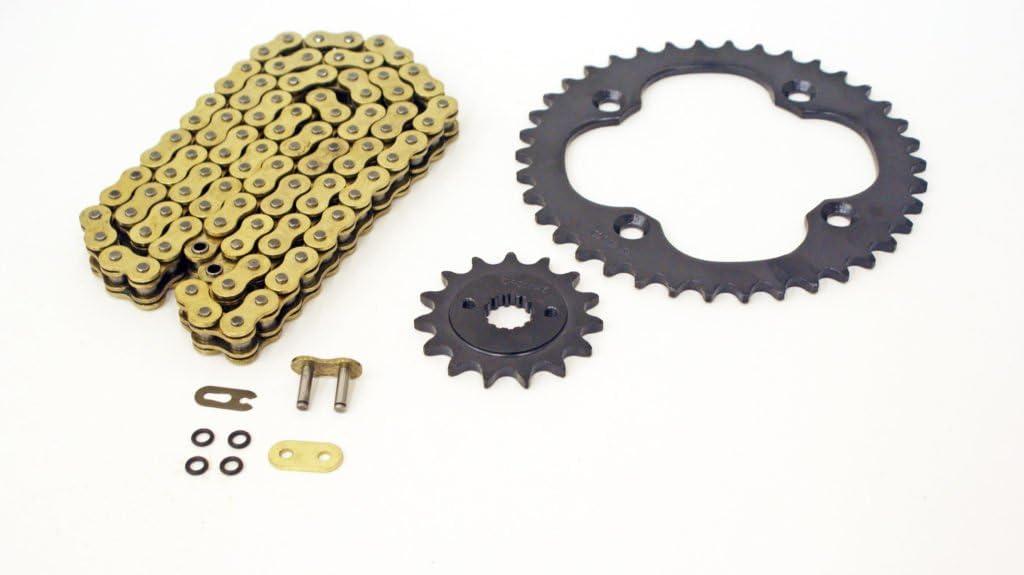 09-10 fits Suzuki LTZ400 QuadSport Spr Gold Black 1 [Alternative dealer] year warranty Chain O-Ring