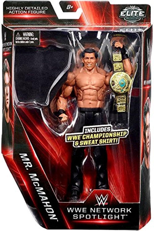 WWE Elite MR.McMahon rete riflettori Statuetta