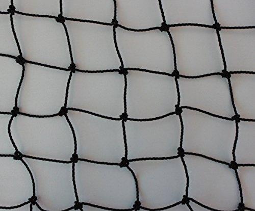 Geflügelzaun Geflügelnetz schwarz Küken Masche 3 cm Stärke: 1,5 mm Größe: 1,00 m x 10 m
