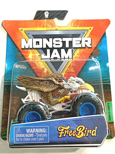 DieCast MonsterJam Free Bird (Eagle) 1/64 Scale, 2021 Series 12