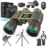 Best Binoculars For Stargazings - 12X50 Military Binoculars with Photography Kit Pro Tripod Review