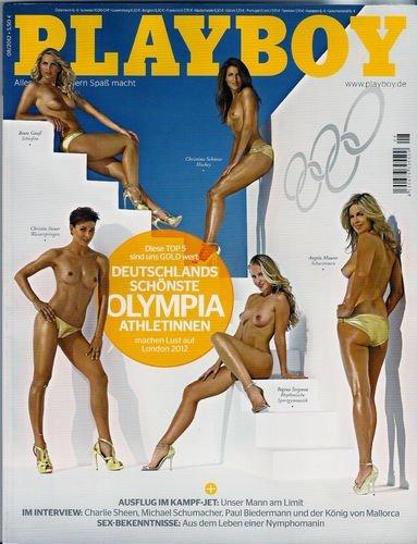 PLAYBOY 2012-08 Deutschlands schönste Olympia Athletinnen