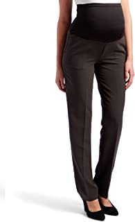 Times Two Maternity Women's Straight Leg Dress Pants