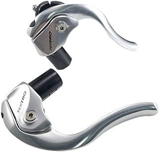 Tektro TL-720 Shorty Reverse Alloy TT Bicycle Brake Levers/Pair/Pure Silver