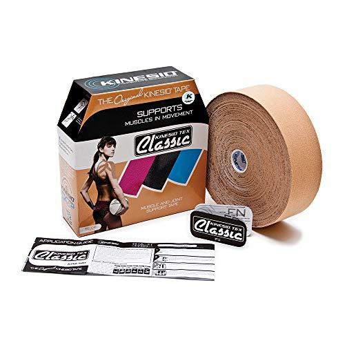 Kinesio Taping - Kinesiology Tape Tex Classic - Beige – 2in x 31.5m Bulk Roll