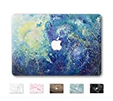 DowBier MacBook Decal Vinyle Peau Autocollant Couverture Anti-Rayures Autocollant pour Apple Macbook (MacBook Pro 15'/inch Retina(A1398), Night Sky)