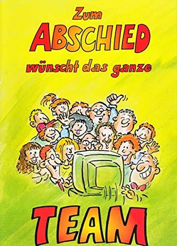 A4 Abschiedskarte Kollegen witzig