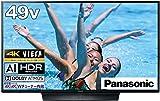 パナソニック 49V型 4Kダブルチューナー内蔵 液晶 テレビ VIERA 転倒防止スタンド搭載 TH-49HX850