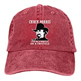 Coolddss Chuck Norris Live and Die Headgear Mens Baseball Hats Retro Jean Snapback Caps Casquette Red