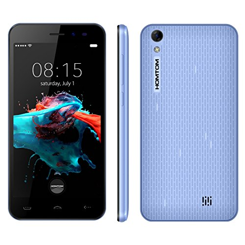 HOMTOM HT16 5.0 Inch Android 6.0 Smartphone, MTK6580 Quad Core 1.3 GHz, 1GB RAM...