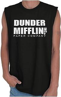 Brisco Brands Dunder Paper Company Mifflin Office TV Show Sleeveless T Shirt