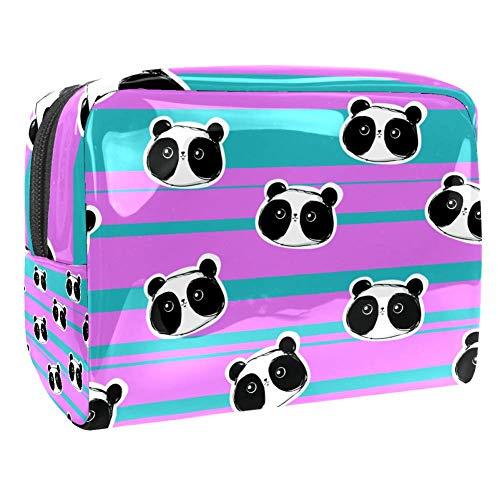 Maquillage Cosmetic Case Multifunction Travel Toiletry Storage Bag Organizer for Women - Cute Panda