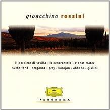 Gioachino Rossini ~ Il barbiere di Seviglia - La cenerentola - Stabat Mater / Sutherland, Berganza, Prey, Karajan, Abbado, Giulini