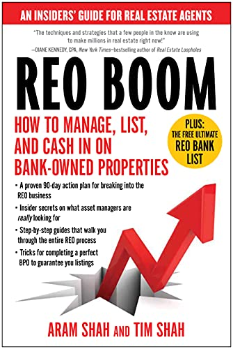 Real Estate Investing Books! - REO Boom: How to Manage, List, and Cash in on Bank-Owned Properties: An Insiders' Guide for Real Estate Agents