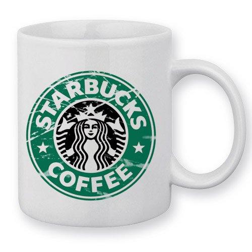 Starbucks Destroy-Becher Coffee Shop Chamalow