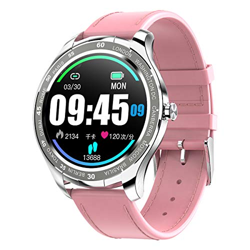 Padgene Smartwatch Reloj Inteligente IP67 Impermeable Bluetooth SmartWatch con Múltiples Modos de Deportes, Fitness Tracker, Monitor de Dormir, Notificación de Llamada y Mensaje para Android e iOS