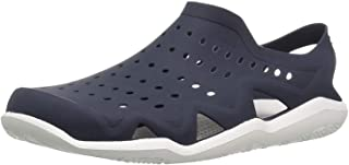 Ethics Blue Rubber Clogs for Men's