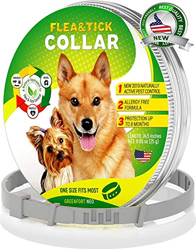GreenfortNeo Pest Control Collar: Hypoallergenic Waterproof Protection Long...