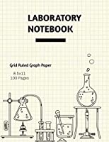 Laboratory Notebook: Lab Journal, Science & Chemistry, Research & Experiments, College Or High School Student, Grid Ruled Graph, Notes, Gift, Composition Book
