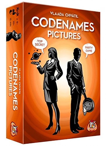 White Goblin Games WGG1623 Codenames: Pictures, 120+ mnd