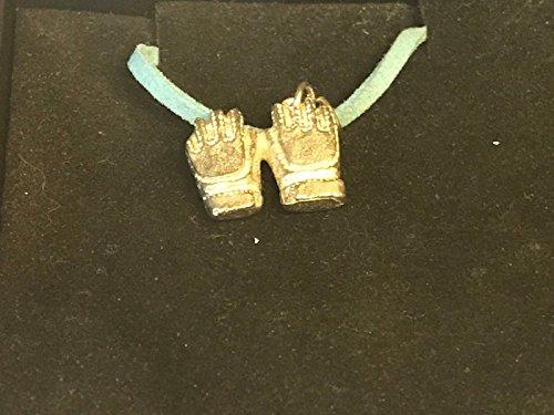Fußball Torwart Handschuhe Fußball Torwart TG181feines englisches Zinn auf einem 45,7cm Blue Cord Halskette geschrieben von uns Geschenke für alle 2016von Derbyshire UK
