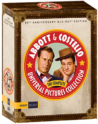 Abbott & Costello: The Complete Universal Pictures Collection [Blu-ray]