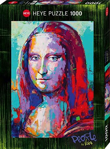 Heye Mona Lisa - Puzzle (1000 Piezas), Color Plateado