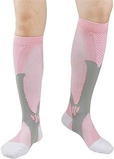 Varicosas Calcetines de compresión for la Mujer Calcetines de fútbol Calcetines Operando Enfermeras Deportes al Aire Libre Crossfit Recorrido del Vuelo de Las Mujeres Medias de compresión