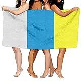 jhgfd7523 Toallas de playa unisex de las Islas Canarias Toallas de baño para adolescentes y adultos, toalla de viaje 31 x 51 pulgadas