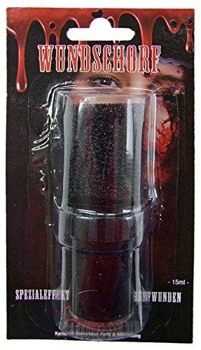 Blut Wundschorf Make Up - Kunstblut Fakeblood Vampirblut 15 ml