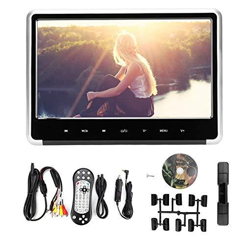 Akozon Autohoofdsteunmonitor, 11,6 inch scherm 1080 p digitale video game dvd-speler auto touch button monitor