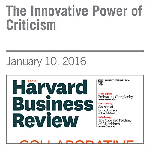 The Innovative Power of Criticism audiobook cover art