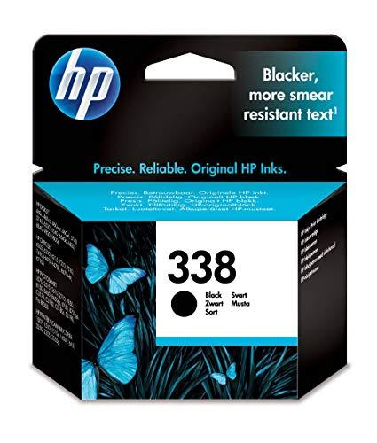 HP 338 Cartouche d'Encre Noir Authentique, pour HP...