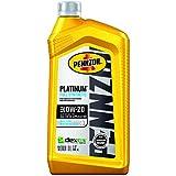 Pennzoil (550036541-6PK) Platinum Full Synthetic 0W-20 Motor Oil - 1 Quart, (Pack of 6)