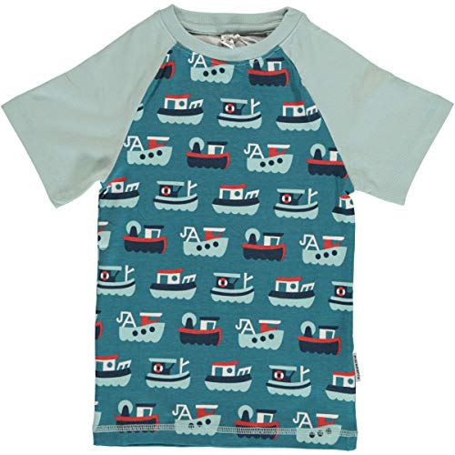 Maxomorra Baby T Shirt Bio Baumwolle Schiffe (74/80)