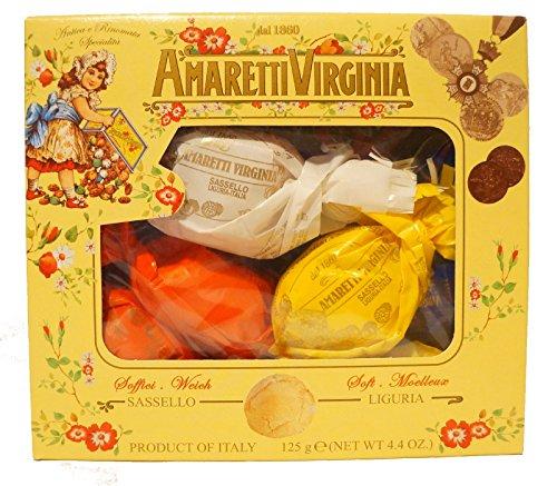 Amaretti Virginia Soft Amaretti Window Box 120 g