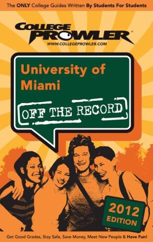 University of Miami 2012 (English Edition)