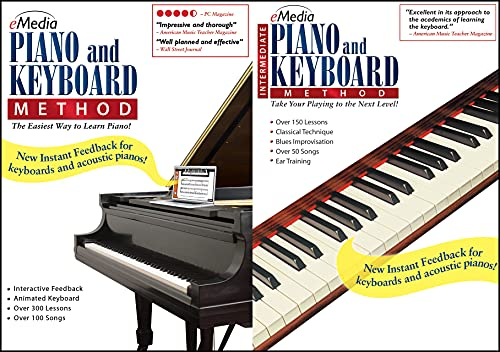 eMedia Piano and Keyboard Method Deluxe [PC Download]