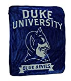 Northwest Duke University Blue Devils Super Plush Raschel Throw Blanket 60 X 50