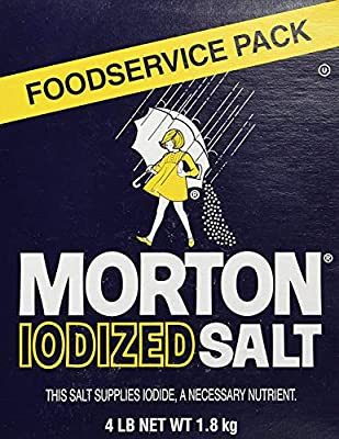Morton Iodized Table Salt - 4lb.
