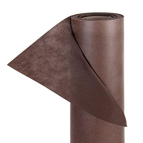 HaGa® Gartenvlies Unkrautvlies UV-Stabil 80g/m² 1,6m Breite braun (Meterware)