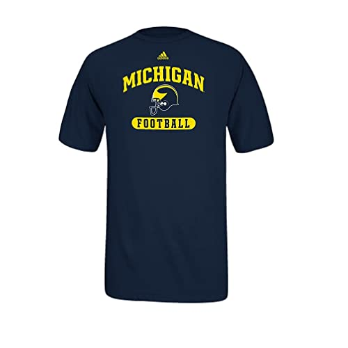 Michigan Wolverines Long Sleeve T-Shirt Arched Logo 12473