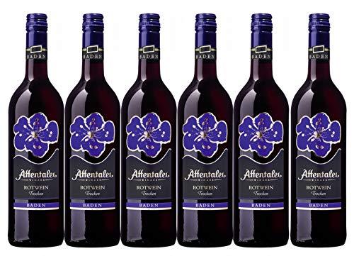 Affentaler Winzer Blütenedition Rotwein QW trocken (6 x 0,75L)