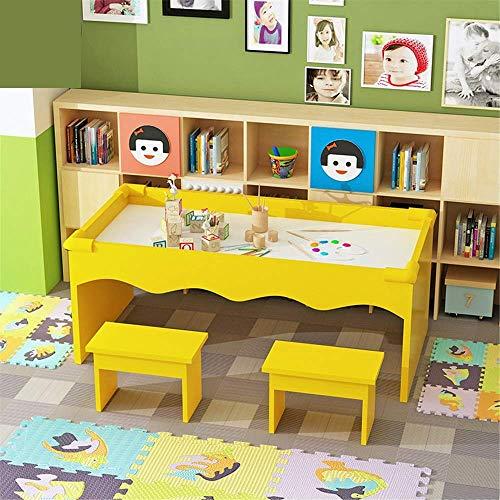 Tavolo da gioco per bambini Tavolo da gioco multifunzionale in legno Tavolo da gioco con sabbia Tavolo da costruzione Gioca con strumento di sabbia Tavolo da sabbia per bambini Tavolo da gio