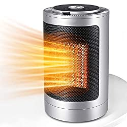 commercial Portable electric ceramic heater with heating, adjustable thermostat and … 1500 W ceramic space heater